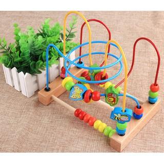 [Freeship đơn 200k] Đồ chơi giáo dục, Bộ đồ chơi zíc zắc cho bé tăng khả tăng tư duy đa chiều