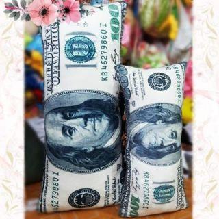 Gối 3d hình tờ tiền 100 USD