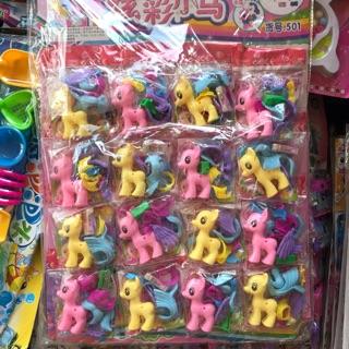 Ngựa pony kèm tẩy ( vỉ 16c) thumbnail