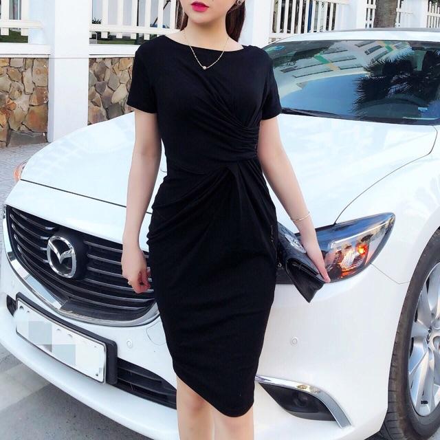 Thumbnail of Váy Body, Đầm Body Xoắn Eo Tôn Dáng - Chất đẹp V30