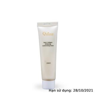 Kem dưỡng trắng da Queenie bổ sung Collagen trải nghiệm 20ml