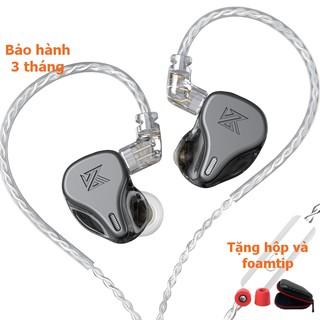 [NC] Tai Nghe KZ DQ6 6 Dynamic Hifi In Ear | Chuyên nghe tạp Vocal Pop Classical Pop | Có Mic | Vỏ Trong suốt