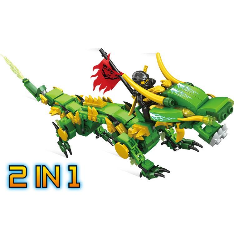 Bộ đồ chơi xếp hình Lego Ninja mô hình Rồng Máy Xanh Lá Cây - 3489479 , 1027747058 , 322_1027747058 , 180000 , Bo-do-choi-xep-hinh-Lego-Ninja-mo-hinh-Rong-May-Xanh-La-Cay-322_1027747058 , shopee.vn , Bộ đồ chơi xếp hình Lego Ninja mô hình Rồng Máy Xanh Lá Cây