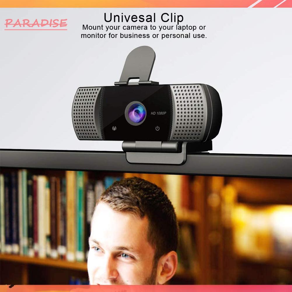 Camera Hd 1080p Kết Nối Usb Cho Laptop Máy Tính