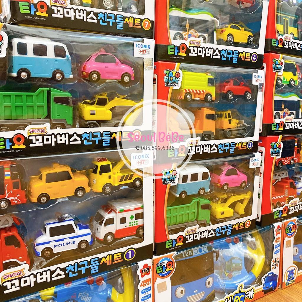 Đồ chơi siêu xe oto Tayo dành cho bé hàng cao cấp Hàn Quốc