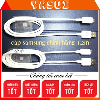 Dây sạc samsung 💝 Chính Hãng 💝 Cáp micro usb 1.2m bảo hành 1 đổi 1 trong vòng 6 tháng cho cáp sạc samsung chính hãng