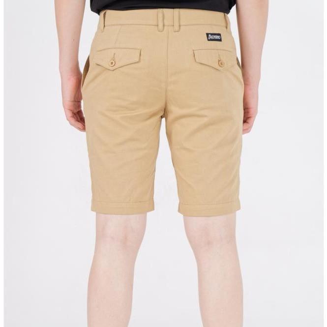 Quần Short kaki Nam Blentino BSB01 - Vải Cotton Trộn Sợi Co Giãn, Thấm Mồ Hôi Chống Nhăn