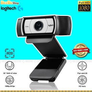 Logitech C930e – Webcam HD 1080p, Tự Động Lấy Nét, Tự Động Căn Chỉnh Ánh Sáng, Tốc Độ Khung Hình 30fps