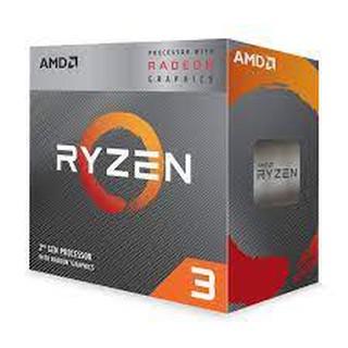 CPU BỘ VI XỬ LÝ AMD RYZEN 3 3200G (3.6GHZ TURBO UP TO 4.0GHZ, 4 NHÂN 4 LUỒNG, 4MB CACHE, RADEON VEGA 8, 65W) thumbnail