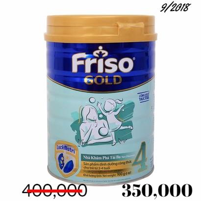 Sữa FrisoGold số 4 lon 900g date 9/2018 sale còn 350,000 - 2724651 , 573433709 , 322_573433709 , 350000 , Sua-FrisoGold-so-4-lon-900g-date-9-2018-sale-con-350000-322_573433709 , shopee.vn , Sữa FrisoGold số 4 lon 900g date 9/2018 sale còn 350,000
