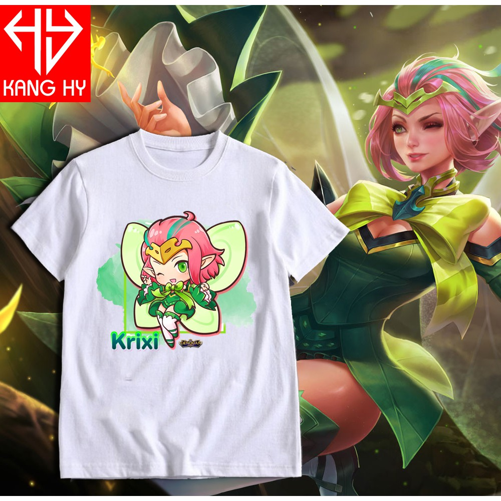 áo liên quân tướng Krixi chibi dễ thương