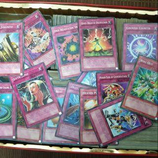 15 lá bài Yugioh Trap Card random tặng thêm 5 lá shop random