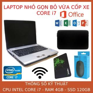 Máy tính xách tay nhập khẩu Core I7, nguyên zin, tốc độ cực nhanh. thumbnail
