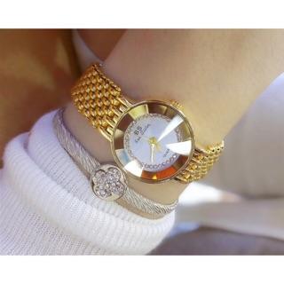 Đồng hồ nữ Bee Sister 1199 pha lê dây kim loại size 20mm nhỏ xinh thumbnail