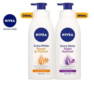 Sữa dưỡng thể trắng da Ngày (350ml) & Đêm (400ml) NIVEA