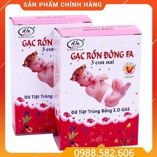 Băng Rốn Đông Fa, Gạc Rốn Cho Trẻ Sơ Sinh - Hộp 3 Miếng thumbnail