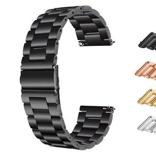 Dây đeo inox 18 / 22 / 20 / 24 mm cho đồng hồ thông minh Samsung Gear S3 / S2 Classic