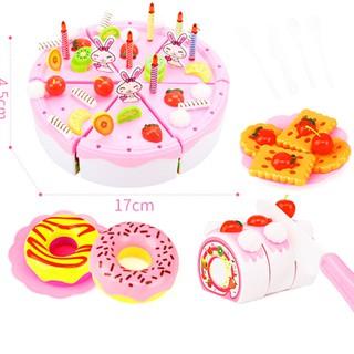 Set đồ chơi bánh kem tiệc sinh nhật cao cấp 99 chi tiết cho bé yêu – DC002
