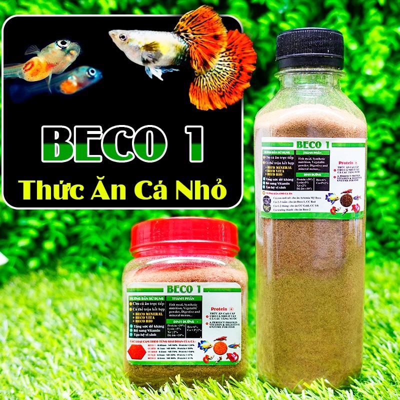 Cám BECO 1 - Thức ăn cho cá con 🐣 BETTA COFFY ☕️