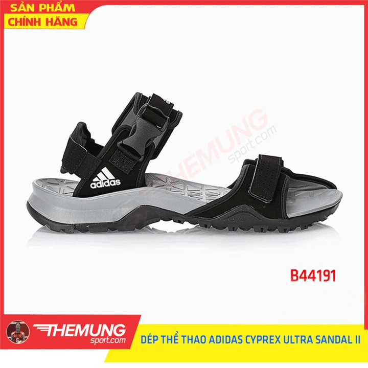 Dép sandal adidas Nam CYPREX ULTRA SANDAL II B44191 (Quai đen)