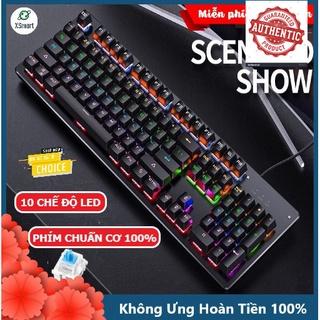 Bàn Phím Cơ Máy Tính Chơi Game H650 Có 10 Chế Độ Led RGB Khác Nhau Chiến Mọi Tựa Game Trên PC Như Pubg, LOL thumbnail