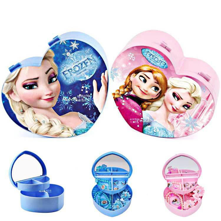 Hộp đựng trang sức cho bé gái - 3556156 , 1187146606 , 322_1187146606 , 45000 , Hop-dung-trang-suc-cho-be-gai-322_1187146606 , shopee.vn , Hộp đựng trang sức cho bé gái