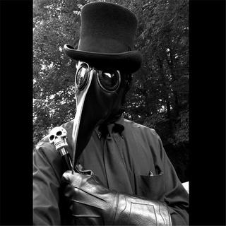 Mặt nạ hóa trang halloween hình chim y tế - hình 4