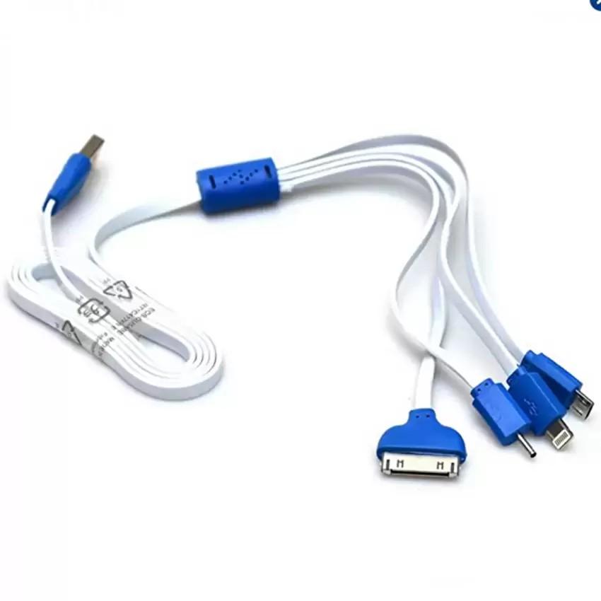Cáp sạc điện thoại 4 đầu đa năng dây rút dài 1m Hanama - 3548372 , 1313384702 , 322_1313384702 , 65000 , Cap-sac-dien-thoai-4-dau-da-nang-day-rut-dai-1m-Hanama-322_1313384702 , shopee.vn , Cáp sạc điện thoại 4 đầu đa năng dây rút dài 1m Hanama
