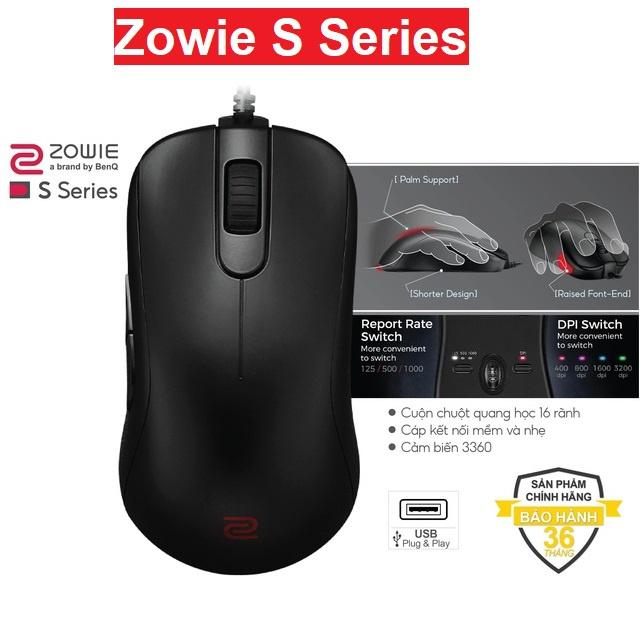 [Mã 267ELSALE hoàn 7% xu đơn 300K] Chuột Gaming BenQ Zowie S Series - Hàng Chính Hãng