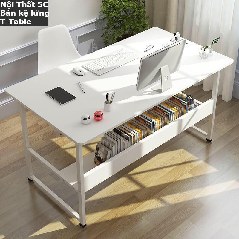 Bàn làm việc, bàn học thiết kế kiểu Hàn S-Table, T-Table khung thép