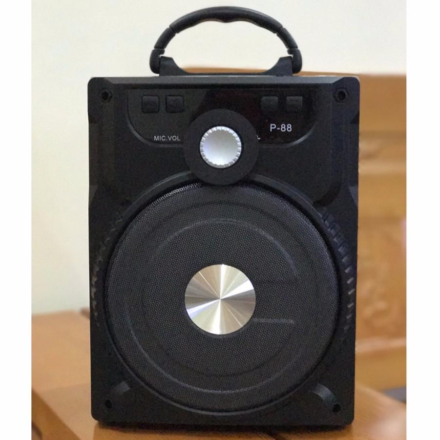 [Tặng Micro] Loa Karaoke Bluetooth P88 P89 - BH 3 tháng
