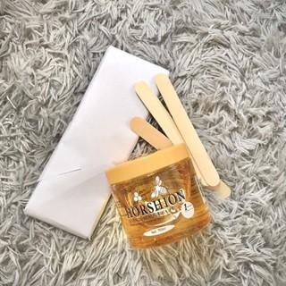 Combo Wax lông mật ong Horshion 750ml kèm giấy wax a4 rất sạch