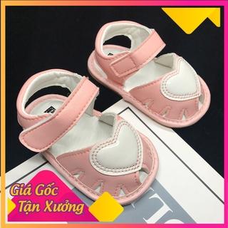 Giày xinh cho bé 🌟 Freeship 🌟 Giày tập đi em bé, họa tiết dễ thương chống trơn trượt cho bé (SGB)