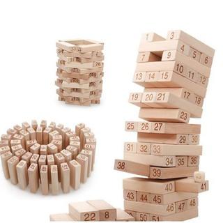 Đồ chơi rút gỗ thông minh (48 thanh