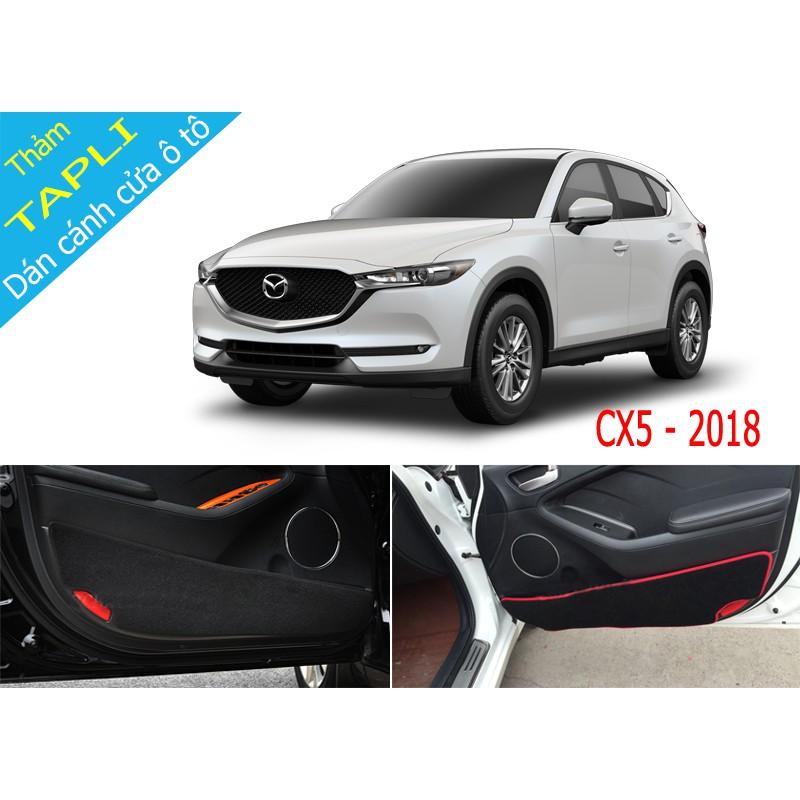 Thảm Tapli dán cánh cửa chống trầy xước xe CX5 2018