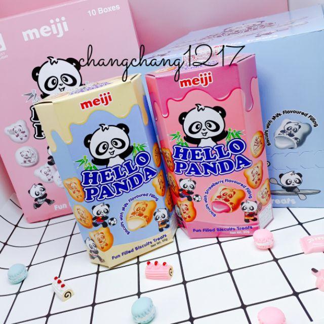 Bánh Gấu Nhân Kem Thái Lan Hello Panda Meiji 50g - 2747441 , 1113492913 , 322_1113492913 , 17000 , Banh-Gau-Nhan-Kem-Thai-Lan-Hello-Panda-Meiji-50g-322_1113492913 , shopee.vn , Bánh Gấu Nhân Kem Thái Lan Hello Panda Meiji 50g