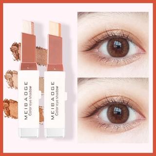 [Hàng mới về] Phấn mắt 2 màu kiểu Gradient dạng thỏi độ bóng cao tiện dụng thumbnail