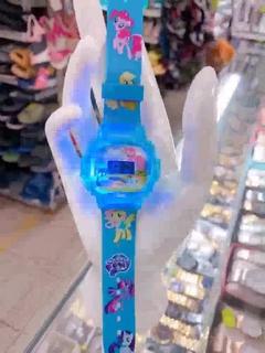 [SIÊU RẺ] Đồng hồ trẻ em siêu nhân, pony, kitty, ellsa. Rẻ nhất HCM