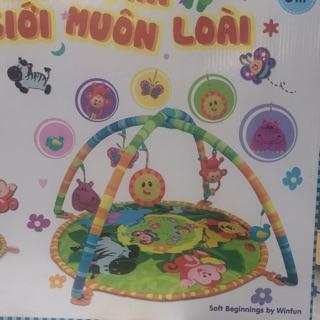 Thảm nằm chơi cho trẻ em( quà tặng moony)