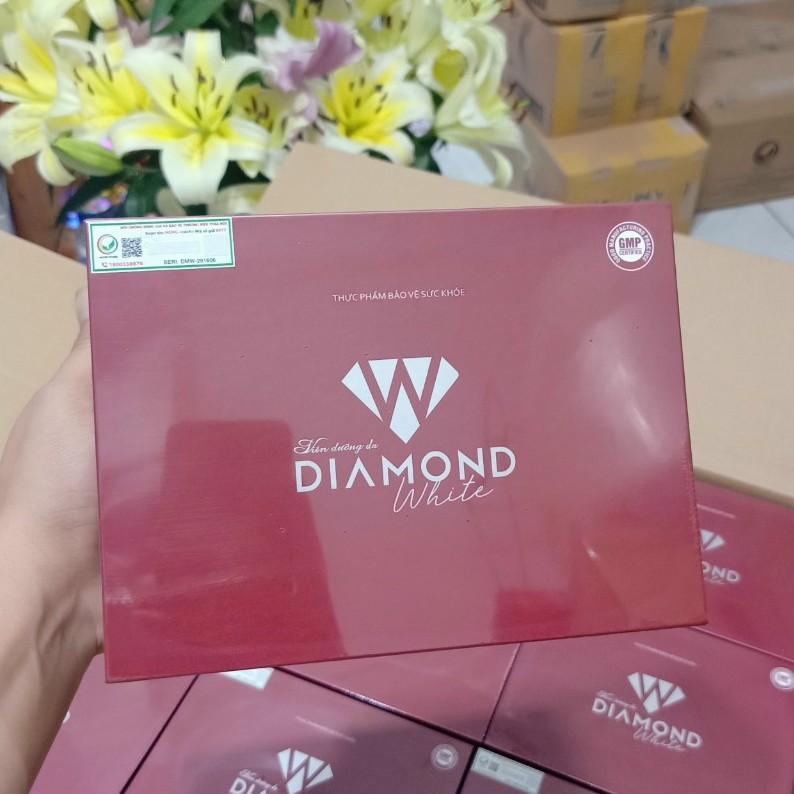 VIÊN UỐNG TRẮNG DA DIAMOND WHITE NGỌC TRINH (tem xóa- chính hãng) giá rẻ