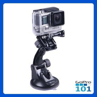 Đế Hít Kính GoPro, SJCam, Xiaomi Yi, Yi Action, Osmo - Chân Đế Gắn Kính ô tô Hút Chân Không - Gopro101 - inoxnamkim thumbnail