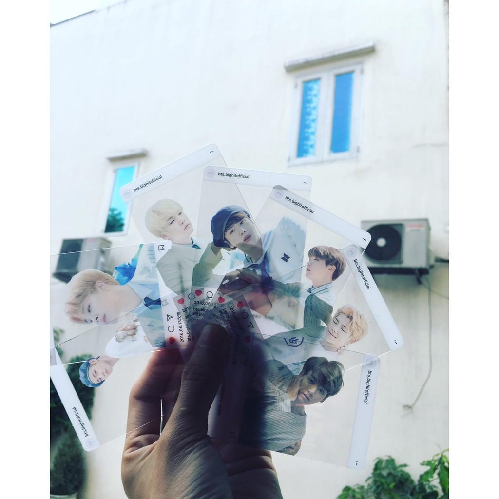 Card Trong BTS nhóm