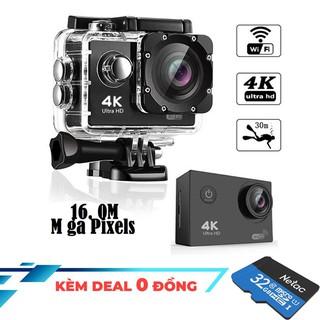 Yêu ThíchCamera hành trình Thể thao 4K ULTRA HD - Tặng thẻ nhớ 32G