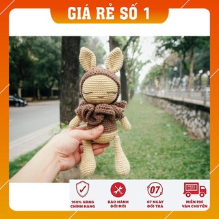 [Xả Hàng] Thú bông tặng bé – Thỏ cổ bèo – Toys made by The Bunny