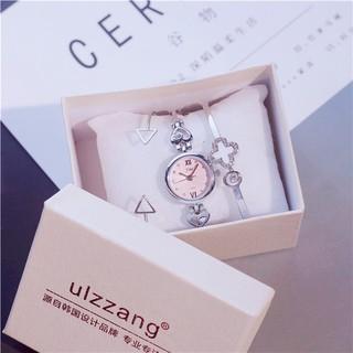 [KÈM 2 VÒNG VÀ HỘP] Đồng hồ nữ Ulzzang JW hàng chính hãng kèm lắc tay thumbnail