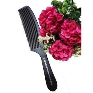 Lược cắt tóc và chải tóc TONI & GUY, đầu răng tròn không làm đâu đầu, dễ chải tóc, phù hợp cả nam và nữ thumbnail