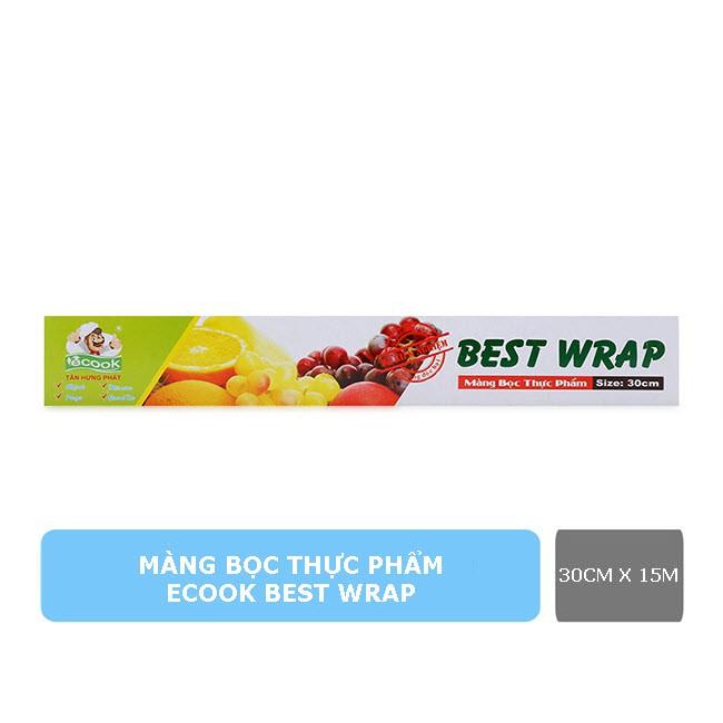 Màng bọc thực phẩm Ecook Best Wrap 30cm