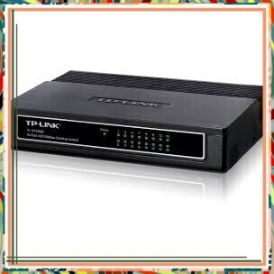 (Siêu tốt ) Switch TP-Link TL-SF1016DS/1000Mbps (Đen) Giá chỉ 934.700₫