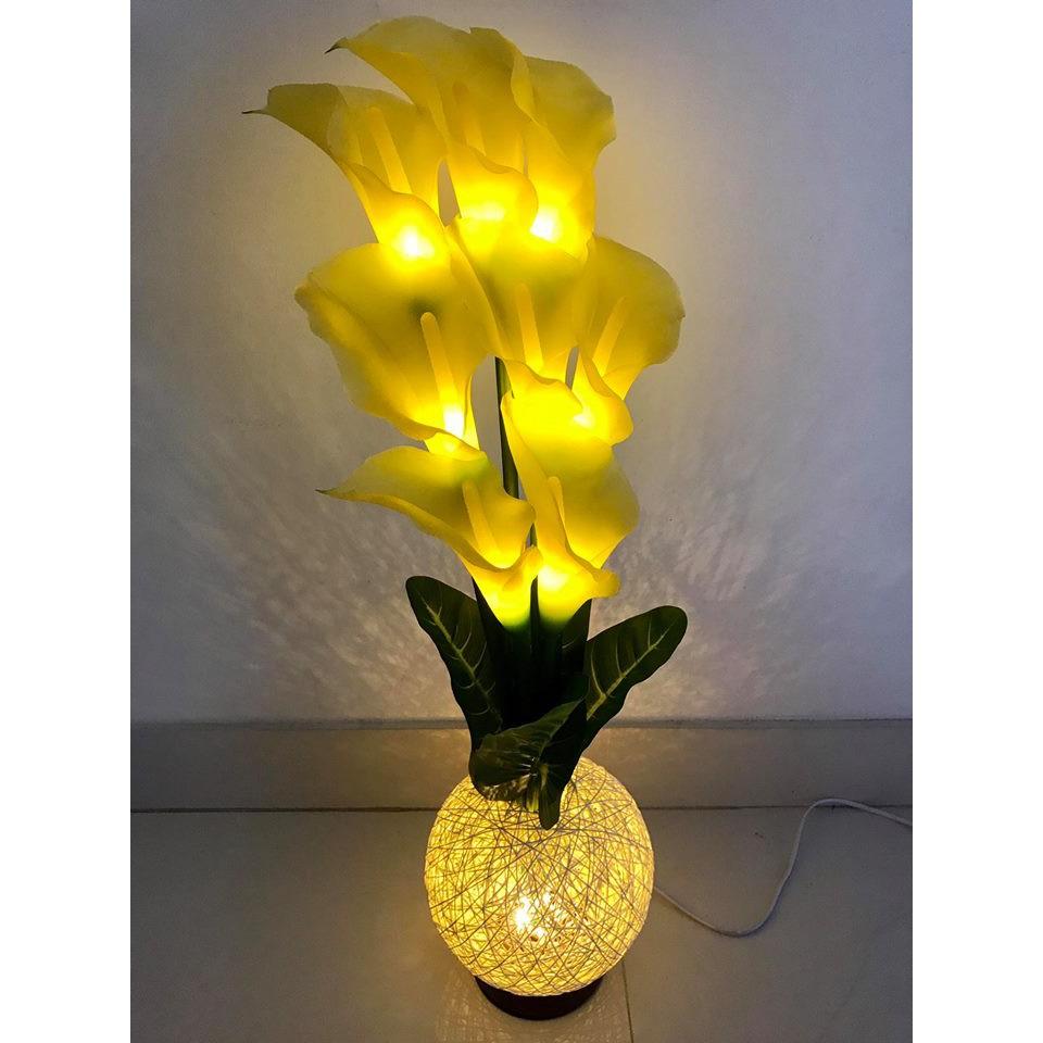 Bình hoa loa kèn vàng đèn led trang trí cao cấp (cao 75cm) - 3467954 , 754995785 , 322_754995785 , 650000 , Binh-hoa-loa-ken-vang-den-led-trang-tri-cao-cap-cao-75cm-322_754995785 , shopee.vn , Bình hoa loa kèn vàng đèn led trang trí cao cấp (cao 75cm)