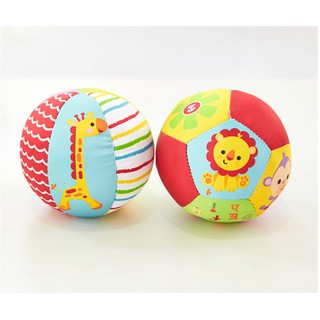 Colorful Baby Children's Ring Bell Ball Baby Cloth Music Sense Learning Toy Ball
